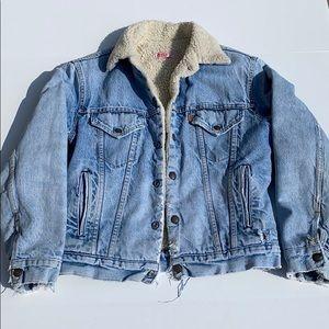 Levi's Vintage Orange label Sherpa Jacket 38